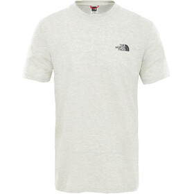 The North Face Simple Dome Maglietta a maniche corte Uomo bianco